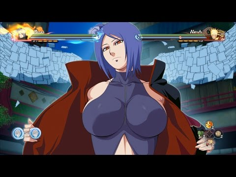 THE ULTIMATE KONAN MOVESET! Naruto Storm 4 Road to Boruto DLC MOD Gameplay!