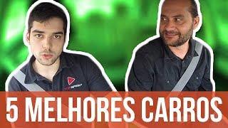 🚘 5 MELHORES CARROS para trabalhar na UBER (feat. Leozítor Canal Top Speed)