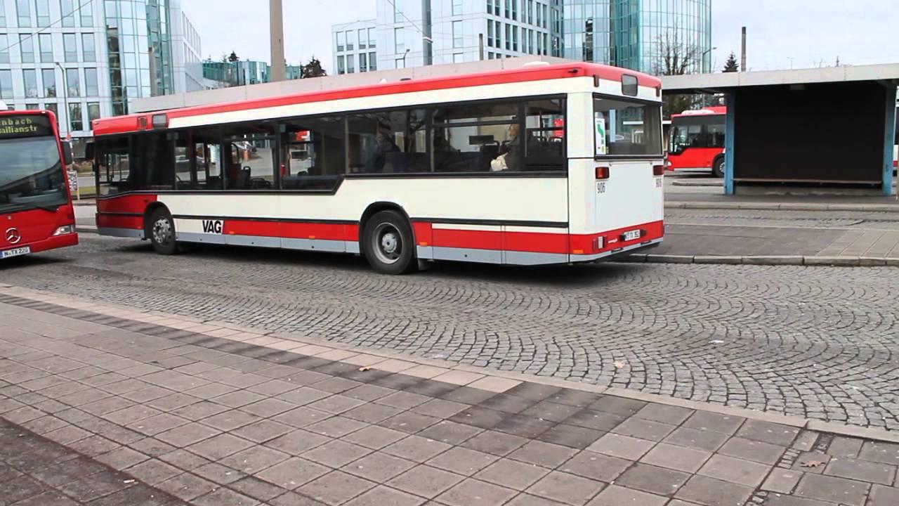 vag n rnberg bus 906 in thon youtube. Black Bedroom Furniture Sets. Home Design Ideas