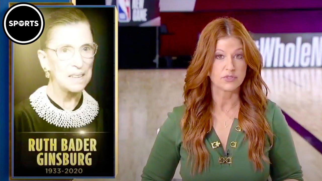 Rachel Nichols Calls Out The NBA For Silence On RBG