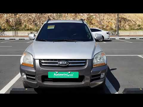 KIA  SPORTAGE  MANUAL  2007  7K456406