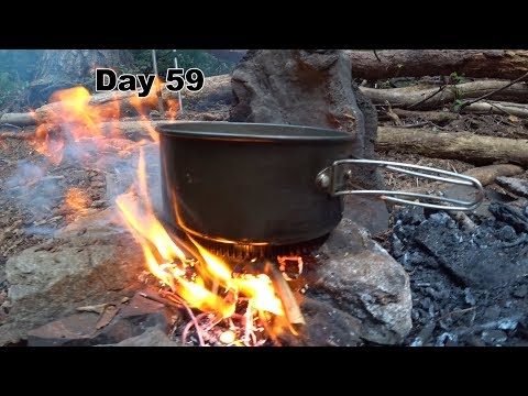 59 PCT - Beautiful Forest,  Campfire Cooking
