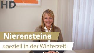 Nierensteine und Nierensand in der Winterzeit
