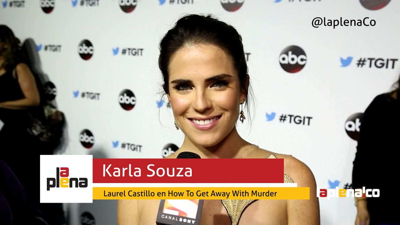 How To Get Away With Murder  Entrevista A Karla Souza