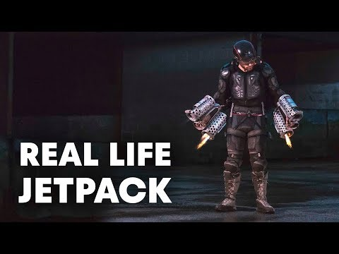 The Real Life Iron Man Jetpack that...