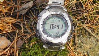 Часы Casio ProTrek 110T спустя год(Кратко про мои часы Casio ProTrek PRG-110T-7VDR - ИМХО, опыт использования за год, сравнение с 110Y, визуальный обзор. Про..., 2013-10-27T05:00:01.000Z)