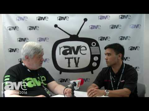 InfoComm 2016: Joel Rollins Interviews Romeo Estores, Product Marketing Manager of Leyard and Planar