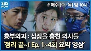 SBS [흉부외과] 정리 끝~! 1~4회 요약 영상 / 'Heart Surgeons' Ep.1~4 Review (6:27')