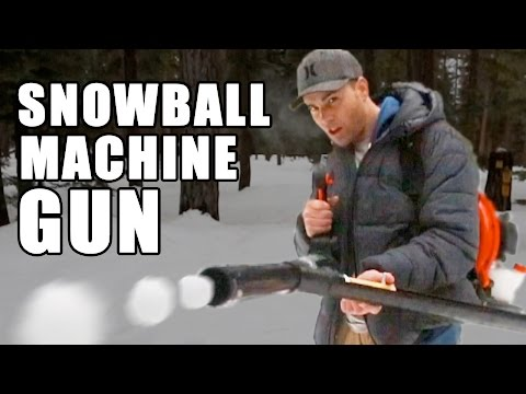 Thumbnail: Snowball Machine Gun- How to make
