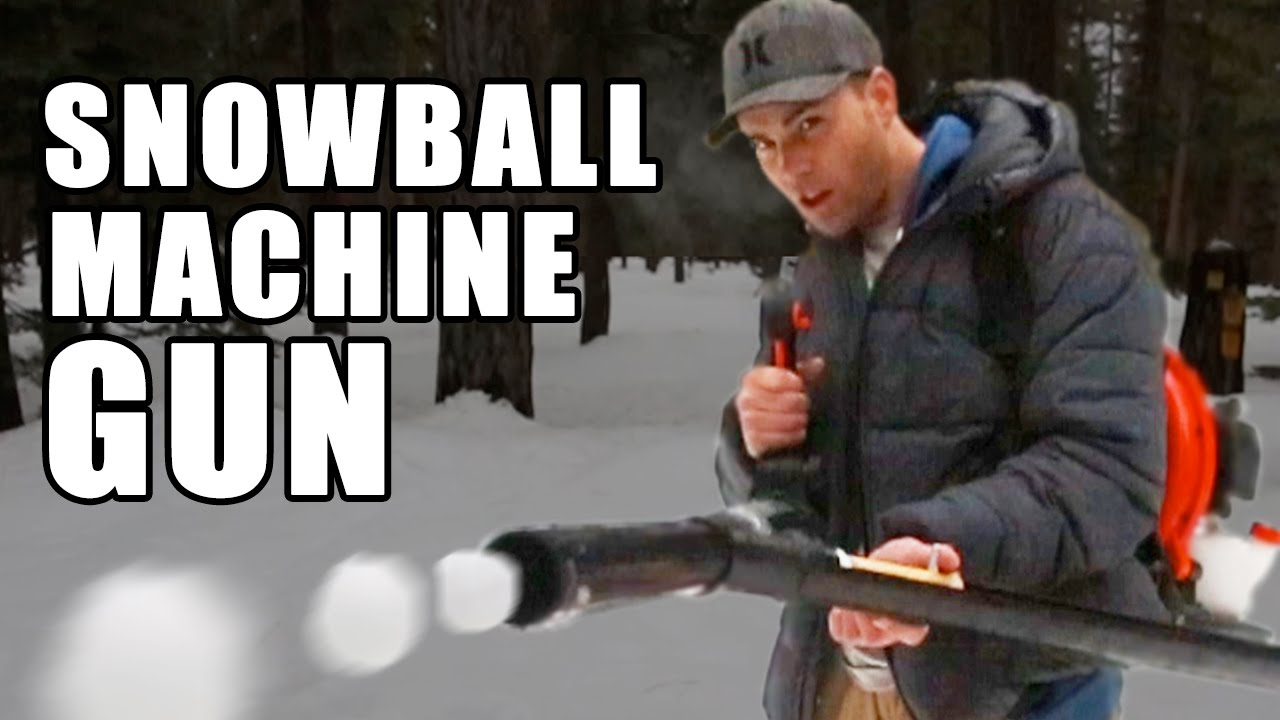 Snowball Machine Gun- How to make