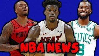 MIAMI HEAT CONTENDERS! BLAZERS MISSING PIECE! KEMBA RETURNS! | NBA NEWS