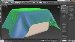 3ds Max Tutorial (beginner)    Cloth Simulation