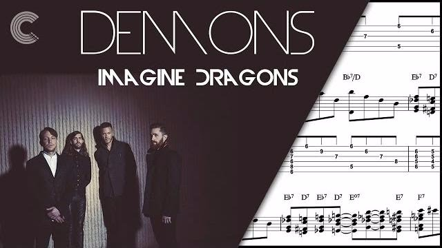 Horn In F Demons Imagine Dragons Sheet Music Chords And