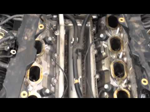 Bmw Removing Intake Manifold Replacing Crankshaft Sensor