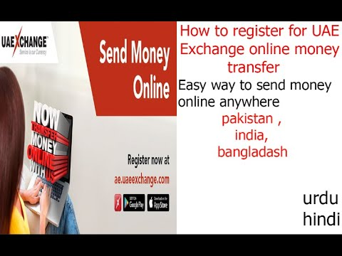 How To Register For UAE Exchange Online Money Transfer