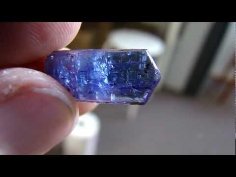 Tanzanite Crystal from Tanzania