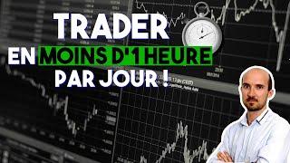 Trader et être performant en moins d'une heure par jour