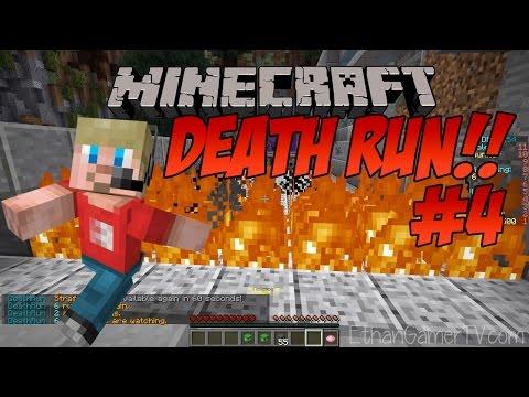 Ethan Plays Minecraft Deathrun (#4) | Kid-friendly Video