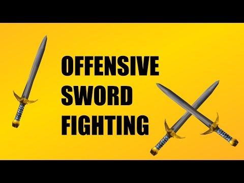 Roblox Sword Fighting Tutorial | Offense