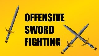 Roblox Sword Fighting Tutorial | Offense