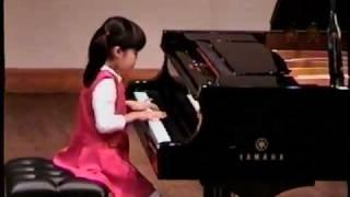 Annie Plays Kabalevsky Variations Op. 40, No. 2 (Kids Piano)