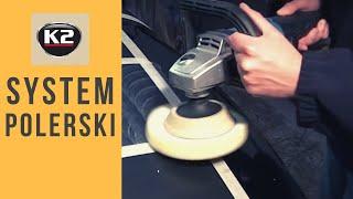 Mechaniczne polerowanie ( polerka ) lakieru samochodowego systemem K2 Pro