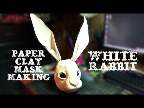 Paper Clay Masking: White Rabbit