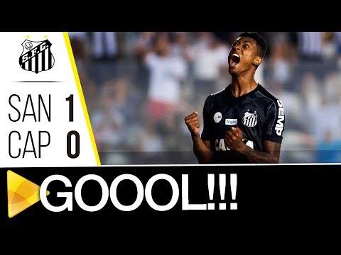 Santos 1 x 0 Atlético-PR | GOL | Brasileirão (23/09/17)