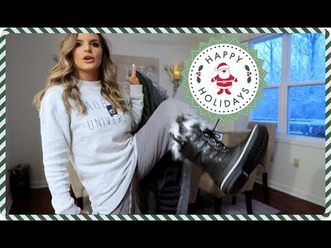 THERE'S SO MUCH SNOW! & Christmas House Tour | Casey Holmes thumbnail