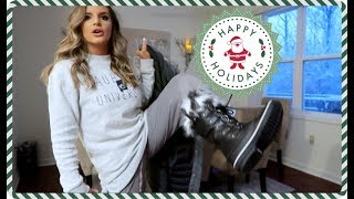 THERE'S SO MUCH SNOW! & Christmas House Tour | Casey Holmes