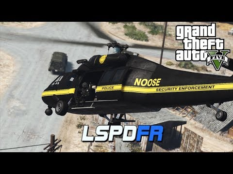 GTA 5 LSPDFR - 20 Noose Helicopters for a DUI