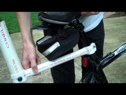 Homemade Fishing Pole Rack For ATV/Bike