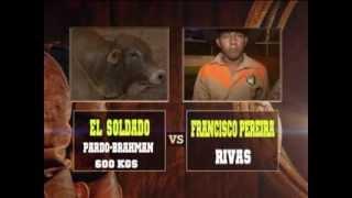 En El Bramadero - monta de toros - 8 - el soldado