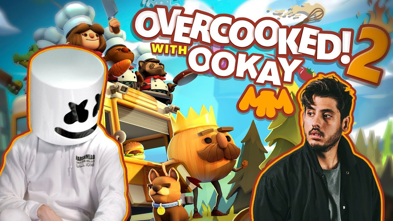Overcooked 2 Sushi Showdown feat. Ookay | Gaming with Marshmello