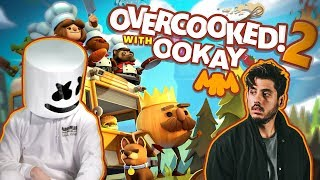 Overcooked 2 Sushi Showdown feat. Ookay | Gaming with Marshmello thumbnail