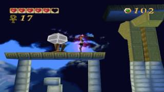 Pandemonium PC gameplay. (HQ).  Level 18 - Storm Temple.