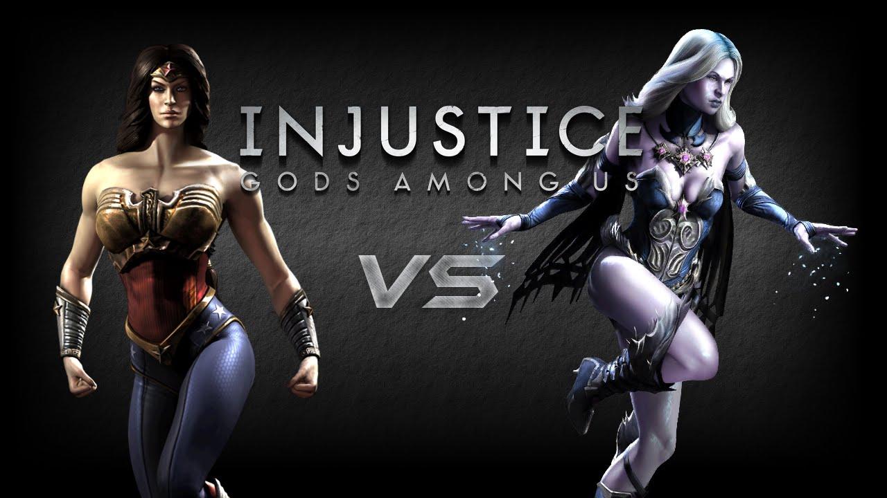 Injustice Gods Among Us - Wonder Woman VS Killer Frost ...