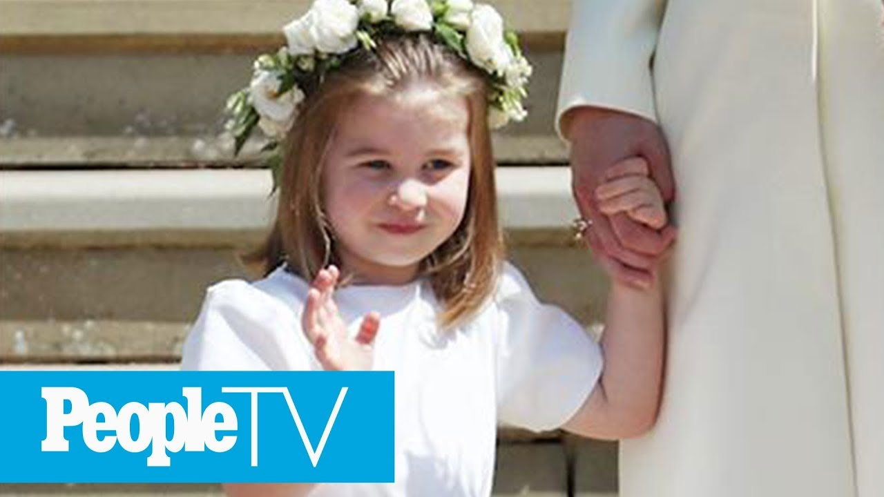 How 3-Year-Old Princess Charlotte Took Charge Of The Other Kids At The Royal Wedding | PeopleTV