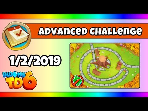 BTD6 Advanced Daily Challenge (TACKTICAL MORTARS FROM HELI) - January 2,  2019
