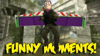 CS GO FUNNY MOMENTS - JUMPING KNIFE , PRO FLASH TROLLING , BAN RAGE QUIT (Funny Moments)
