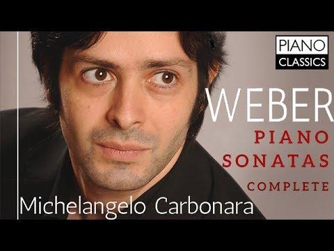 Weber Complete Piano Sonatas