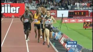 Pierre-Ambroise BOSSE 1:43.88 wins 800m - Diamond League London 2016