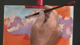 How to Paint a Dramatic, Impressionistic Clouds with Mike Rooney