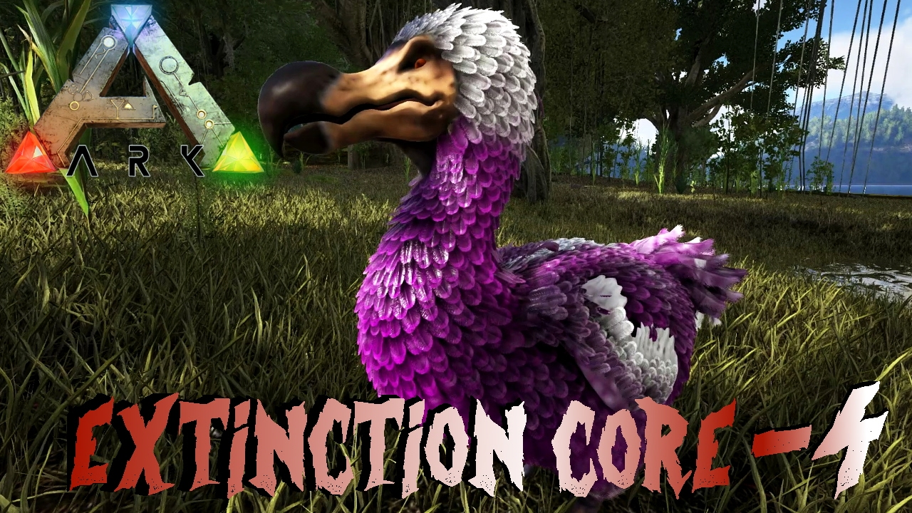 ARK: Extinction Core #4 - Die Busch Menschen haben Yui & Pinky, der ...