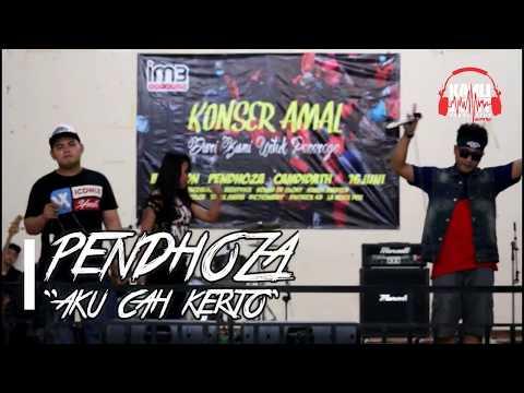 PENDHOZA - AKU CAH KERJO LIVE GEDUNG UKDN KLATEN #KONSER AMAL UNTUK PONOROGO