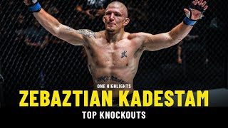 Zebaztian Kadestam's Top Knockouts   ONE Highlights