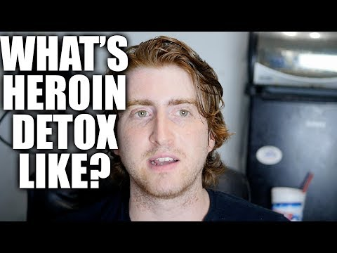 What's heroin detox like? The drug withdrawal from opiate addiction causing the heroin epidemic