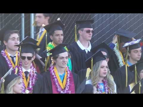 Mountain View, High School Spartans Graduation 2017