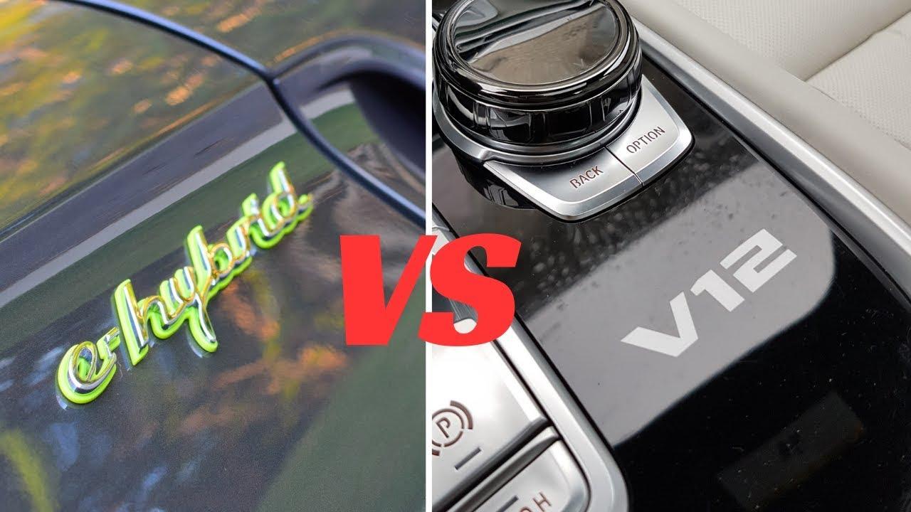 Bmw M760 Li Vs Porsche Panamera Turbo S E Hybrid Mileage Performance Comparison