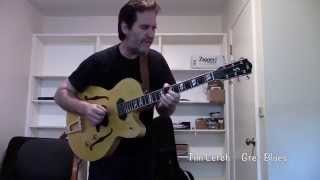Tim Lerch - Grez Blues- Grez TL model with Lollar P 90s